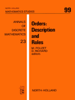 Orders: Description and Roles