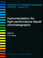 Instrumentation for High Performance Liquid Chromatography