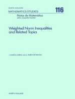 Weighted Norm Inequalities and Related Topics