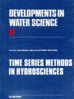 Time Series Methods in Hydrosciences