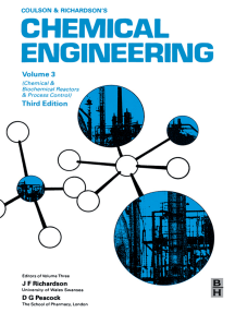Chemical Engineering, Volume 3: Chemical and Biochemical Reactors and Process Control