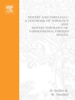 Seifert and Threlfall, A Textbook of Topology