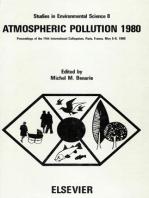 Atmospheric Pollution 1980