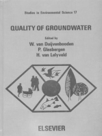Quality of Groundwater: Proceedings of an international symposium, Noordwijkerhout, the Netherlands, 23-27 March 1981