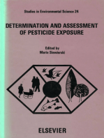 Determination and Assessment of Pesticide Exposure