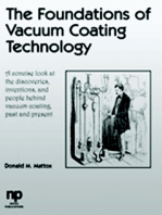 The Foundations of Vacuum Coating Technology