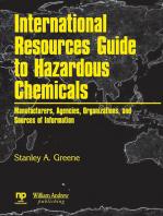 International Resources Guide to Hazardous Chemicals