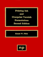 Printing Ink and Overprint Varnish Formulations, 2nd Edition