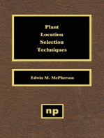 Plant Location Selection Techniques