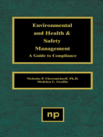 Environmental and Health and Safety Management