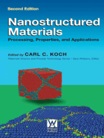 Nanostructured Materials: Processing, Properties and Applications