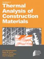 Handbook of Thermal Analysis of Construction Materials
