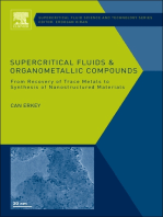 Supercritical Fluids and Organometallic Compounds