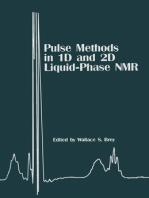 Pulse Methods in 1D & 2D Liquid-Phase NMR