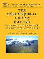 The Myrdalsjokull Ice Cap, Iceland