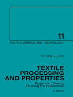 Textile Processing and Properties: Preparation, Dyeing, Finishing and Performance
