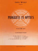 Progress in Optice