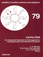Catalysis: An Integrated Approach to Homogeneous, Heterogeneous and Industrial Catalysis