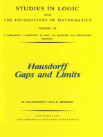 Hausdorff Gaps and Limits