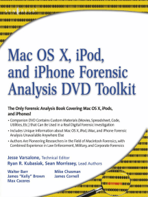 Mac OS X, iPod, and iPhone Forensic Analysis DVD Toolkit