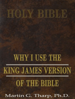 Why I Use the King James Version of the Bible