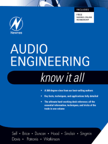 Audio Engineering: Know It All