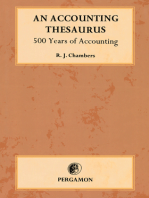 An Accounting Thesaurus