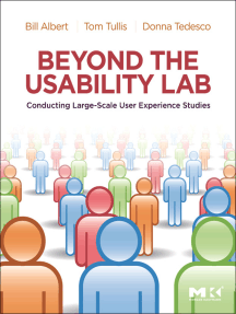 Beyond the Usability Lab: Conducting Large-scale Online User Experience Studies