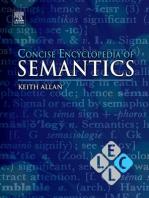 Concise Encyclopedia of Semantics