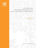 The Method of Weighted Residuals and Variational Principles, with Application in Fluid Mechanics, Heat and Mass Transfer