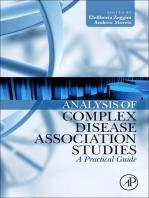 Analysis of Complex Disease Association Studies