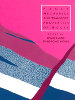 Fault Mechanics and Transport Properties of Rocks