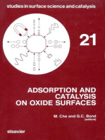 Adsorption and Catalysis on Oxide Surfaces