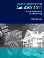 Up and Running with AutoCAD 2011: 2D and 3D Drawing and Modeling