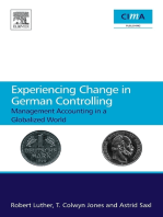 Experiencing Change in German Controlling: Management Accounting in a Globalizing World