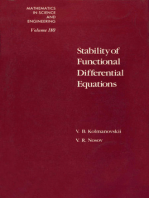 Stability of Functional Differential Equations