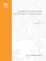 An Introduction to Complex Analysis in Several Variables