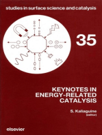 Keynotes in Energy-Related Catalysis
