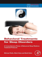 Behavioral Treatments for Sleep Disorders