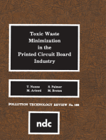 Toxic Waste Minimization in the Printed Circuit Board Industry