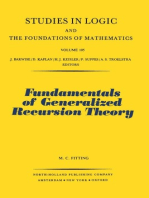 Fundamentals of Generalized Recursion Theory