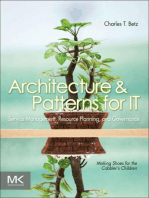 Architecture and Patterns for IT Service Management, Resource Planning, and Governance