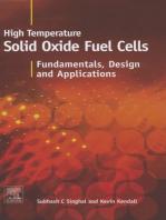 High-temperature Solid Oxide Fuel Cells