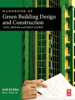 Handbook of Green Building Design and Construction: LEED, BREEAM, and Green Globes
