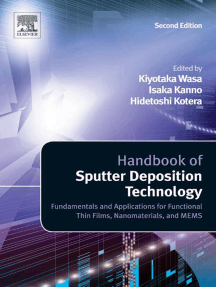 Handbook of Sputter Deposition Technology: Fundamentals and Applications for Functional Thin Films, Nano-Materials and MEMS