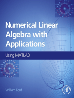 Numerical Linear Algebra with Applications: Using MATLAB