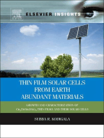 Thin Film Solar Cells From Earth Abundant Materials