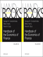 Handbook of the Economics of Finance SET:Volumes 2A & 2B: Corporate Finance and Asset Pricing