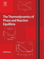 The Thermodynamics of Phase and Reaction Equilibria