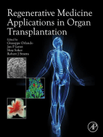 Regenerative Medicine Applications in Organ Transplantation